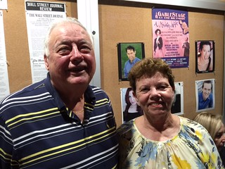 Vince and Carol Damian at the GableStage Theater