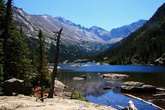 Mills Lake in Glacier Gorge - Rocky Mountain National Park, Colorado (danjdavis) Tags: lake nationalpark colorado mountainlake rockymountainnationalpark glaciergorge millslake