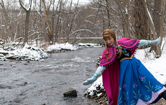 Anna at the Falls -5 (YGKphoto) Tags: park winter anna snow cold minnesota frozen costume cosplay outdoor minneapolis disney minnehaha