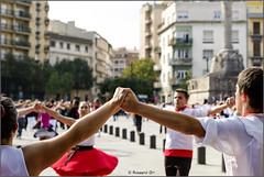 Sardanistes (rossendgricasas) Tags: street urban music dance danza catalonia girona baile sadana