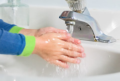 clean hands (timthulson) Tags: water soap hands clean health faucet washing hygeine