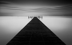 Ruskin Pier - B&W Edition (josesuro) Tags: longexposure digital landscapes tampabay florida piers ruskin 2016 afsnikkor28mmf18g jaspcphotography nikond750