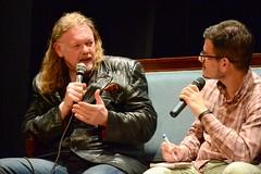 Tim Willocks, Edoardo Rialti (Sugarpulp) Tags: festival romanzostorico piovedisacco chronicae sugarpupl