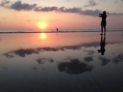 Kuta Sunset (Andrew Permezel) Tags: sunset bali beach kuta iphone