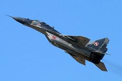 56_Mig29 (GH@BHD) Tags: aircraft aviation military 56 mig fairford mikoyan riat mig29 royalinternationalairtattoo raffairford fulcrum polishairforce 56red riat2015