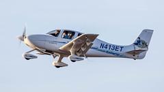 Cirrus SR20 N413ET (ChrisK48) Tags: airplane aircraft 2006 dvt phoenixaz kdvt cirrussr20 phoenixdeervalleyairport ravivairlines barakraviv n413et
