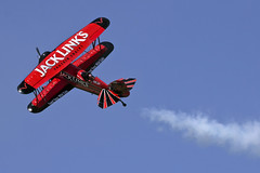 2016 Air power over Hampton Roads Langley Air Show Virginia Screamin' Sasquatch (watts_photos) Tags: show red jeff electric plane airplane jack virginia power waco general beef air over jet engine airshow whitney roads hampton links bi langley airpower stunt jerky biplane stunts aerobatic pratt powered sasquatch 2016 screamin taperwing boerboon