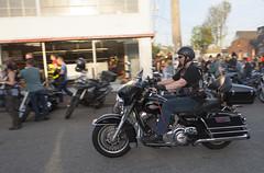 Harley (B Shree B) Tags: seattle sunset cafe motorcycle ballard racers backfire