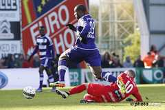 10580924-099 (rscanderlecht) Tags: sports sport foot football belgium soccer playoffs oostende roeselare ostend voetbal anderlecht playoff rsca mauves proleague rscanderlecht kvo schiervelde jupilerproleague