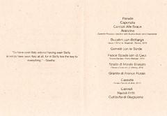 Next Sicily Menu (Edsel L) Tags: chicago dave menu restaurant us illinois unitedstates grant next sicily tasting tastingmenu beran degustation achatz grantachatz nextrestaurant daveberan