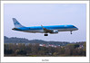 PH-EZO KLM Embraer E190 About To Land