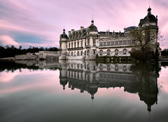 Chateau de Chantily (Guillaume_BRIAND) Tags: france castle water nikon eau reflet reflect filter nd chateau density chantilly filtre neutral 1424 nd1000 d7100