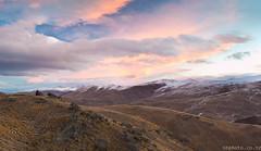 Otago Tussock Sunset