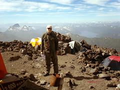 Climbing the Lanin; 2600m camp (CarlosMF) Tags: patagonia argentina kodakdigitalcamera neuqun rolleiflex35fplanar laninvolcano laninnationalpark