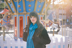 Winter carnival (ditakespictures) Tags: carnival winter portrait cold merrygoround vsco