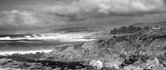 Point Panorama I_bw (Joe Josephs: 2,600,180 views - thank you) Tags: ocean california blackandwhite water walking hiking pacificocean fineartphotography blackandwhitephotography waterscape californiacentralcoast waterreflections pacificcoasthighway cambriacalifornia californialandscape landscapephotography outdoorphotography fineartprints joejosephsphotography