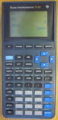 TI-81 (rickpaulos) Tags: calculator ti83 graphing