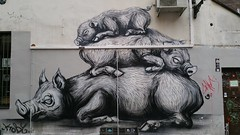 Roa...Brussels, Belgium... (colourourcity) Tags: brussels streetart graffiti pig belgium belgique awesome bruxelles pigs roa nofilters brusselsgraffiti streetartbrussels colourourcity colourourcitybrussels