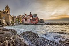 Vernazza - Cinque Terre (marypink) Tags: winter sea sky seascape pov liguria cielo cinqueterre vernazza unescoworldheritage nikond800 nikkor1635mmf40