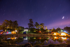 Fushoushan Farm (Taichung City) Track of the star (Kelvin Wun) Tags: camping lake star nikon taiwan taichung   d610  fushoushan
