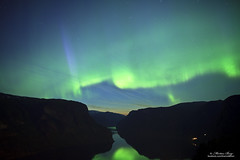"""""""The Magic of Night"""" (Explore) (ScenicMotion) Tags: norway aurora fjords auroraborealis aurland nordlys northernlight aurlandsfjorden aurlandsfjord stegastein northernlighs"""