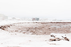 Snow on the Water (Grant is a Grant) Tags: ca winter snow canada harbor novascotia waterfront harbour ns snowstorm january kitlens wolfville harbourfront 1855 annapolisvalley harborfront waterfrontpark nikkor1855mm nikond90 vsco vscofilm