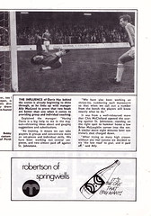 Motherwell vs Airdrieonians - 1979 - Page 11 (The Sky Strikers) Tags: park football scottish first lucky fir guide division league motherwell programme airdrie airdrieonians
