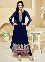 Deep Blue Georgette Kameez With Churidar Salwar (nikvikonline) Tags: blue fashion women suit frock colorblue casualwear salwarkameez partywear womenswear dailywear bluerock womenclothing fashiondress salwarsuit womenfashion bluewear onlinewomens stylishsuits bluesalwar pakistanisuit pakistaniwear pakistanisalwarsuit stylwear bluekameez
