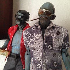 Customs- Fear and Loathing (moldie 13) Tags: dr duke 3a zomb custom 13 gonzo raoul fearandloathing moldie13 mxiii 16thscale threea moldie