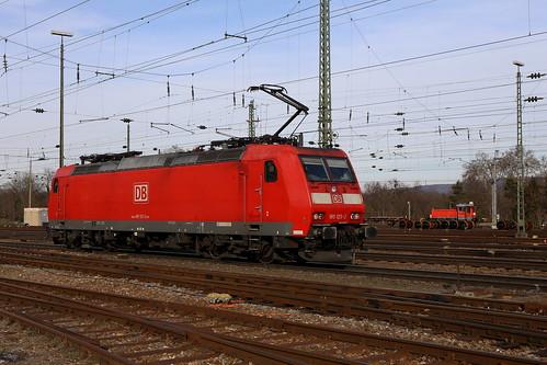 DB Schenker 185 125-2 SBB Cargo, Basel Bad Bhf