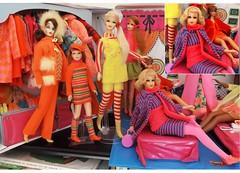 SIXTIES STRIPES (ModBarbieLover) Tags: mod doll stacey barbie skipper 1968 tnt francie marlo