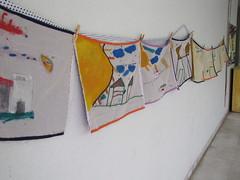 Exposio apresenta olhar das crianas sobre o bairro Salgado Filho (Portal PBH) Tags: mostra de olhar o pano das crianas filho cultura bairro sobre quadros salgado exposicao