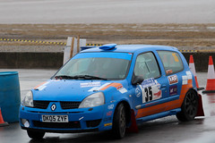 legend fire rally 2016 | clio | Dk05 ZYF (Jgalea14) Tags: orange window glass car wheel canon fire mirror ast suspension oz rally clio elf round physics 35 pure legend blackpool rotary fuchs pennington fleetwood blure 2016 renult 100d jelf astsuspension