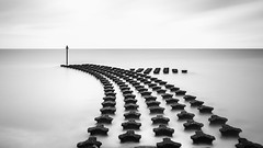 Emergent (Tony Lu) Tags: longexposure england monochrome canon suffolk le marching canon5d felixstowe leefilter canon1740f4lusm bigstopper 10stopper