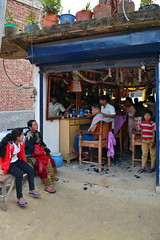 Nepal - Gorkha - Barber Saloon - 1 (asienman) Tags: nepal gorkha barbersaloon asienmanphotography