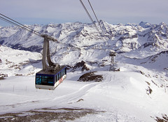 Gone Skiing (wheehamx) Tags: france skiing tignes