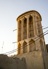 wind tower used as a natural cooling system in iranian traditional architecture, Qeshm Island, Laft, Iran (Eric Lafforgue) Tags: city travel urban building tower tourism vertical architecture outdoors photography persian asia day desert iran traditional towers middleeast culture persia bluesky nobody architectural catcher orient cultural persiangulf windcatcher windtower badgir qeshmisland laft hormozgan coolingsystem  buildingexterior   iro straitofhormuz  builtstructure colourpicture  irandsc01804