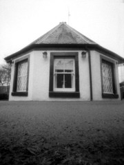 Half Frame at Blair (wheehamx) Tags: pinhole frame half blair