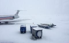 Minneapolis, 2016 (gregorywass) Tags: winter snow airplane airport flight minneapolis february zero cancelled visibility 2016