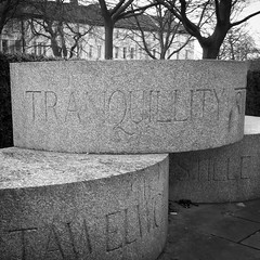 Tranquillity by Graeme Mitchell (stephenlamb) Tags: sculpture square leicester squareformat graeme mitchell inkwell project365 iphoneography instagramapp uploaded:by=instagram