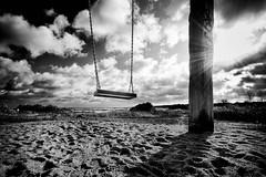 Day 304/365 ... The swing (Bo Hvidt) Tags: bw monochrome blackwhite swing nik 365 xt1 silverefex bohvidt nikcollection fujifilmxt1 xf1024mm fujinonxf1024mmf4rois
