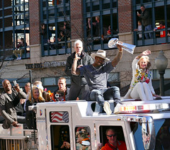 Denver Broncos Victory Parade (Sandra Leidholdt) Tags: usa america us football colorado unitedstates nfl denver parade celebration explore trophy afc americanfootball mvp 2016 denverbroncos victoryparade peytonmanning professionalfootball prosports explored mostvaluableplayer lombarditrophy superbowlchampions profootball americansports sandraleidholdt demarcusware vonmiller superbowl50 annabelbowlen