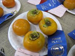 starr-091003-7541-Diospyros_kaki-Fuyu_fruit-Maui_County_Fair_Kahului-Maui (Starr Environmental) Tags: diospyroskaki