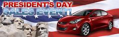 Hyundai Presidents Day Sales Event (GlendoraHyundai) Tags: honda day nissan event toyota sales hyundai navigation presidents sonata elantra