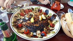 Very tasty fish at Cherhana - Vama Veche (vicxyz) Tags: vamaveche turbot cherhana