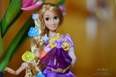 Princess 09 (Lindi Dragon) Tags: doll dolls disney kinder rapunzel disneystore disneyprincess