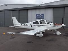 G-JRSH Cirrus SR22 (Aircaft @ Gloucestershire Airport By James) Tags: james airport gloucestershire lloyds cirrus sr22 egbj gjrsh