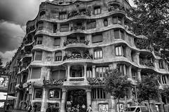 Casa Mila (La Pedrera) - Barcelona (Culture Shlock) Tags: barcelona travel architecture buildings spain gaudi