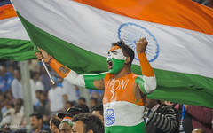 Comon India!! (J Anand) Tags: cricket tricolour pp msd indianflag dhoni msdhoni cricketfan punephotographers photographerspune indiacricket janand anandjadhav andyjadhav wwwphotographersatpunecom janandphotography anandjadhavphotograhy