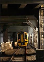 Britannia Bridge. (peterdouglas1) Tags: arrivatrains menaistraits britanniabridge a55expressway 158sprinters